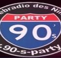 online radio 90's Party,