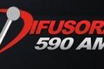 Difusora AM 590, Online radio Difusora AM 590, live broadcasting Difusora AM 590