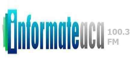 online radio Informate Aca 100.3 FM, radio online Informate Aca 100.3 FM,