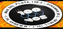 online radio La 100 Mdp, radio online La 100 Mdp,