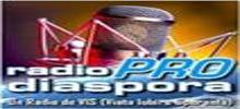 Radio ProDiaspora, Online Radio ProDiaspora, live broadcasting Radio ProDiaspora
