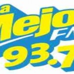 La Mejor 93.7, Online radio La Mejor 93.7, live broadcasting La Mejor 93.7