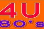 online radio 4U 80s FM, radio online 4U 80s FM,