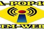 Live online radio A Pop 40 FM