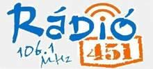 Radio 451, Online Radio 451, Live broadcasting Radio 451, Hungary