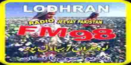 Live Online Radio Jeevay Pakistan FM 98,