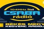 Csaba Radio, Online Csaba Radio, Live broadcasting Csaba Radio, Hungary