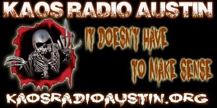 KAOS Radio Austin online