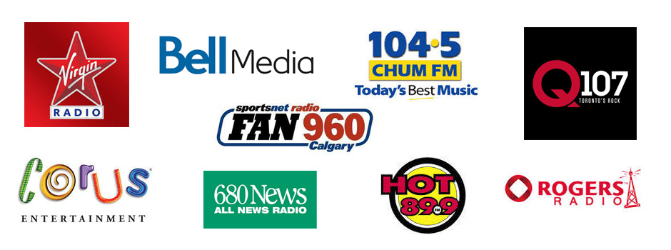 Popular Radio stations in Canada