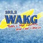 103.3 WAKG live