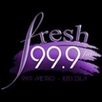 Fresh 99.9 live