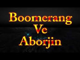 Boomerang Ve Aborjin live