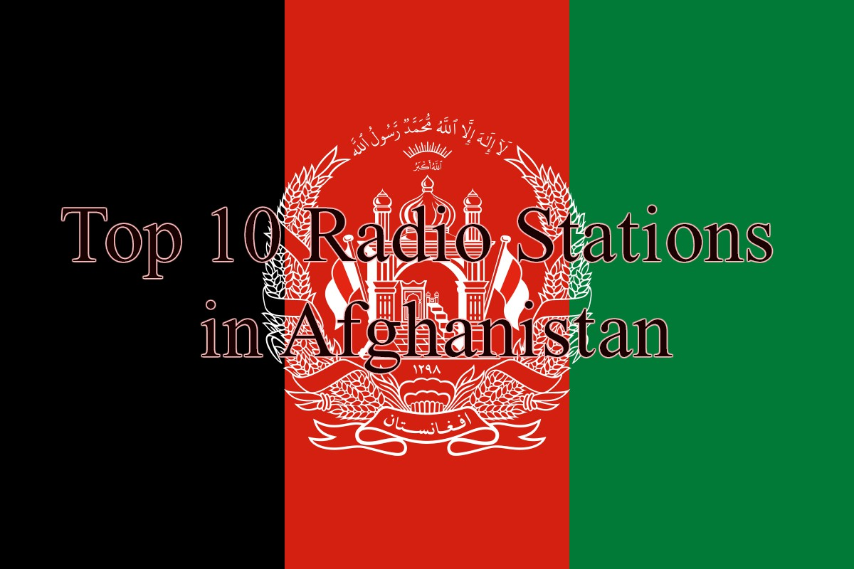 Top 10 Radio Stations in Afghanistan
