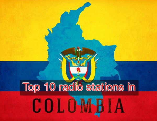 Top 10 radio stations in Colombia live