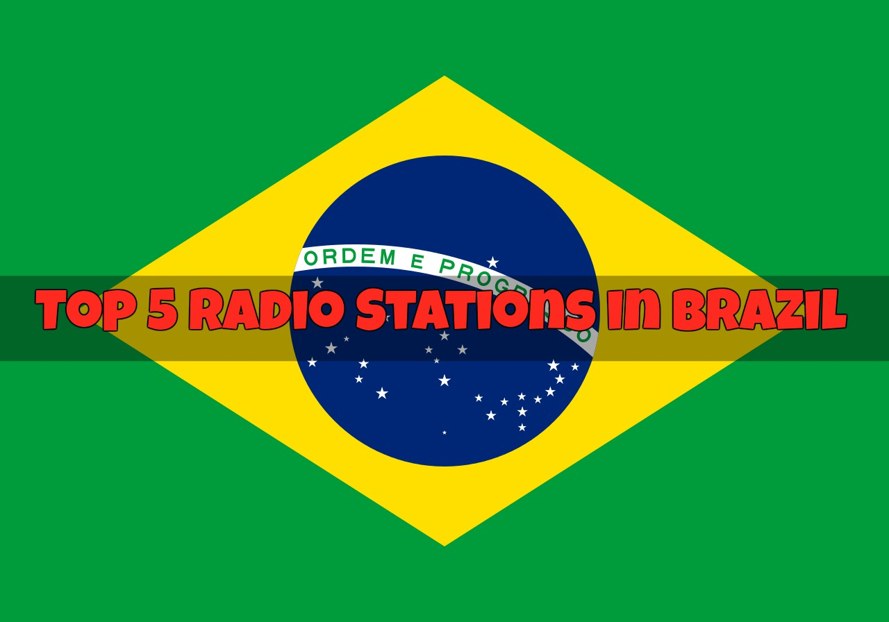 Top 5 Radio Stations in Brazil online