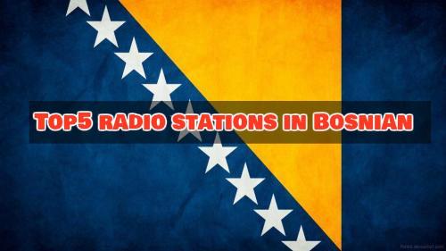 Top 5 radio stations in Bosnian online