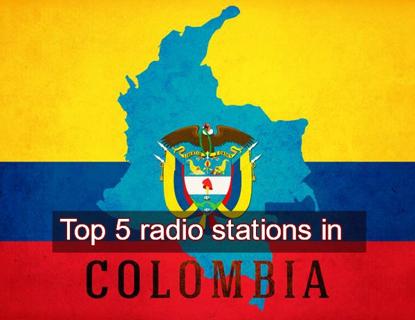 Top 5 radio stations in Colombia live