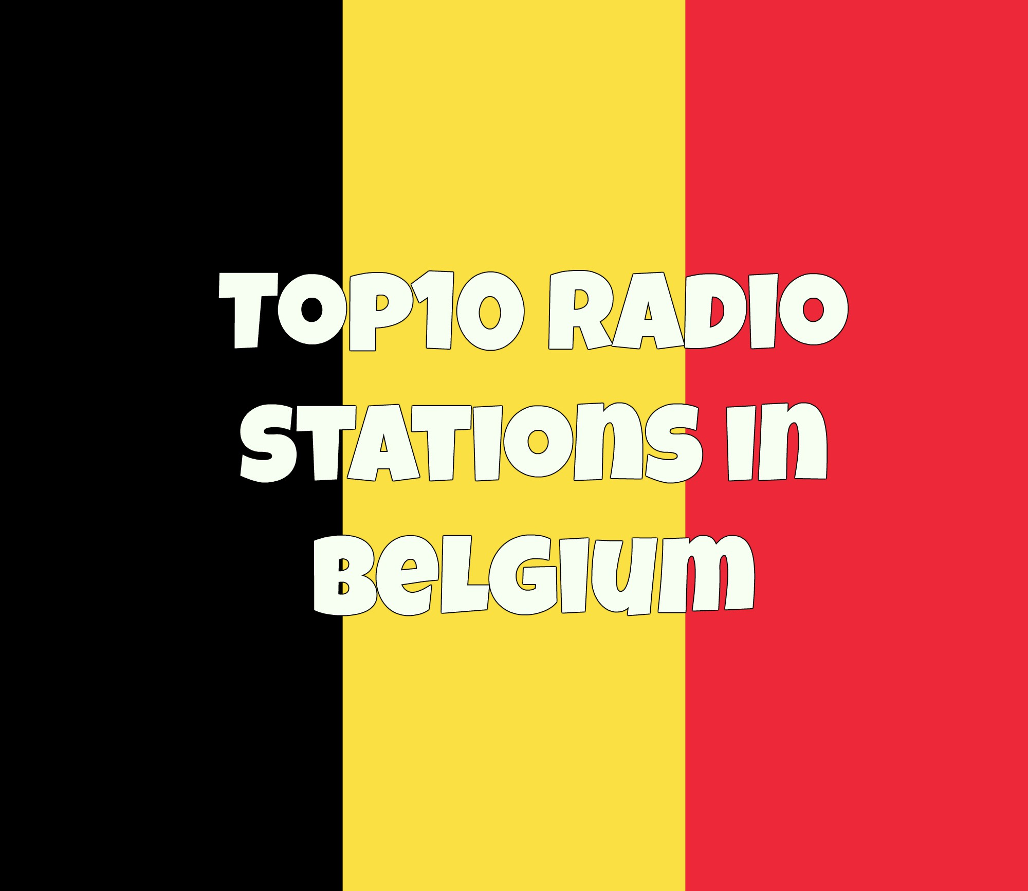 Top10 radio stations in Belgium online