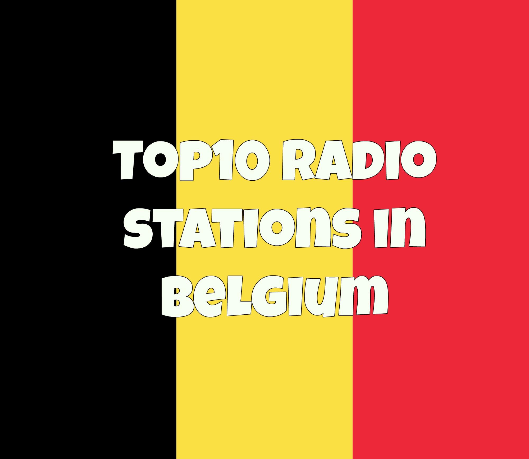 Top10 radio stations in Belgium online