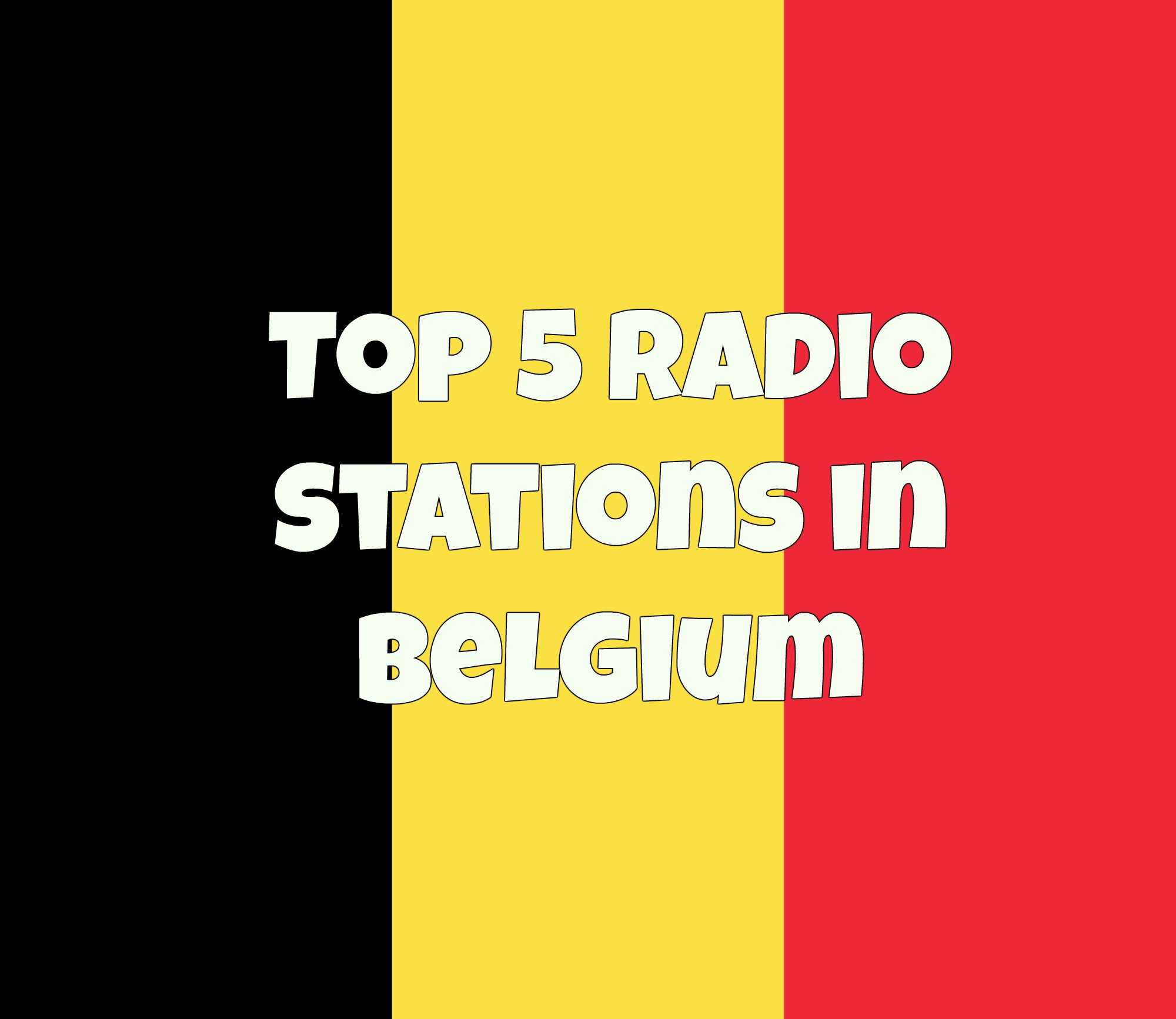 Top5 radio stations in Belgium online