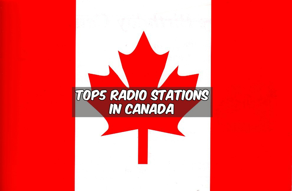 Top5 radio stations in Canada live