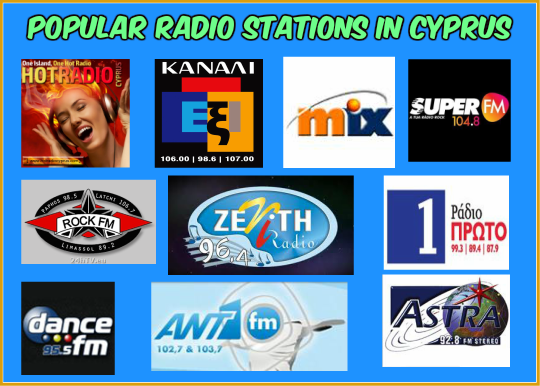 Popular radio stations in Cyprus live