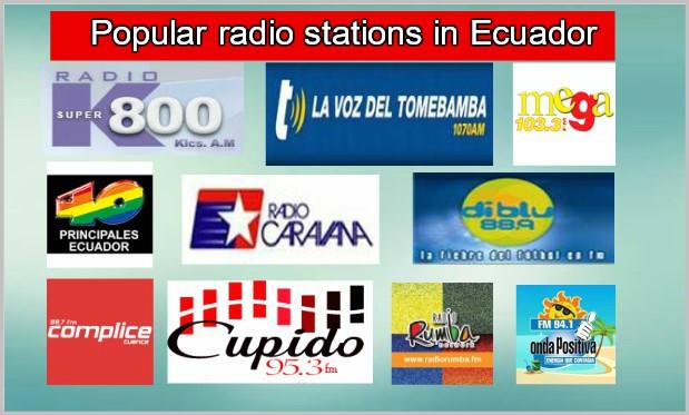 Popular radio stations in Ecuador