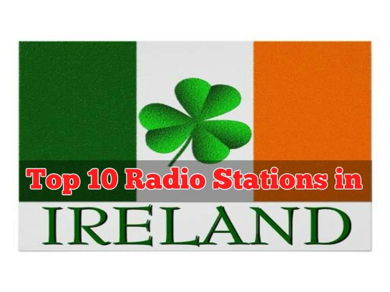 Top 10 radio stations in Ireland