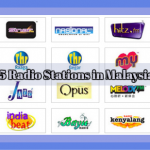 the list of Top 5 Radio Stations in malaysia