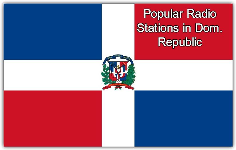 most Popular online Radio Stations in Dom. Republic