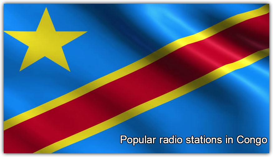 Popular online radio stations in Congo