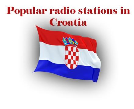 Popular live online radio stations in Croatia