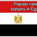 Popular online radio stations in Egypt