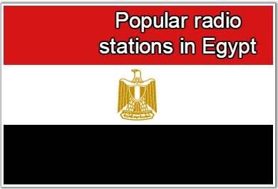 Popular online radio stations in Egypt