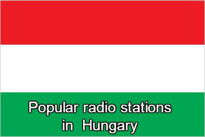 Popular online radio stations in Hungary