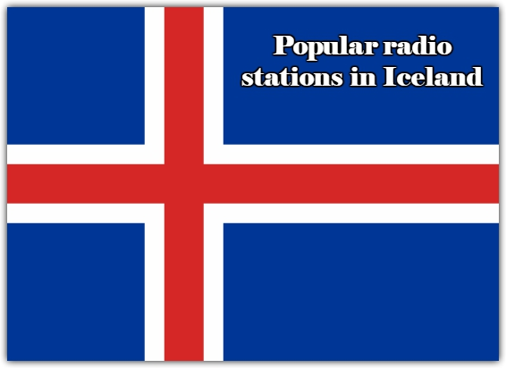 Popular live radio stations in Iceland