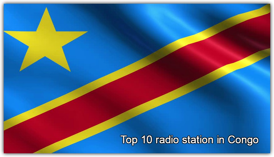 Top 10 radio station in Congo live free radio tune