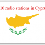 the list most popular Top 10 radio stations in Cyprus