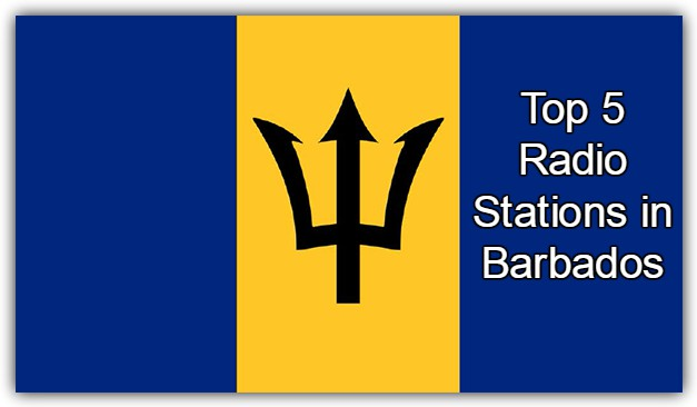 Top 5 live online Radio Stations in Barbados