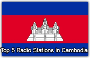 Top 5 online Radio Stations in Cambodia