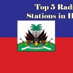Top 5 online Radio Stations in Haiti