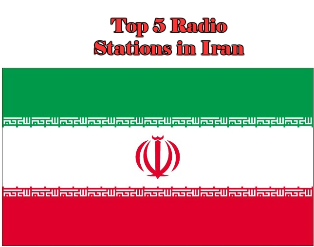 Top 5 online Radio Stations in Iran