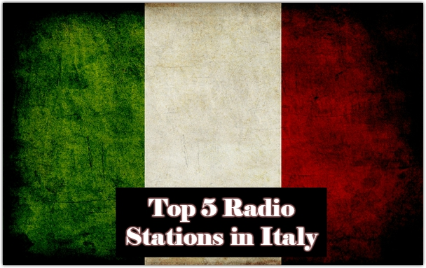 Top 5 live Radio Stations in Italy