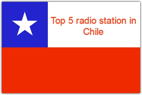 Top 5 live online radio station in Chile
