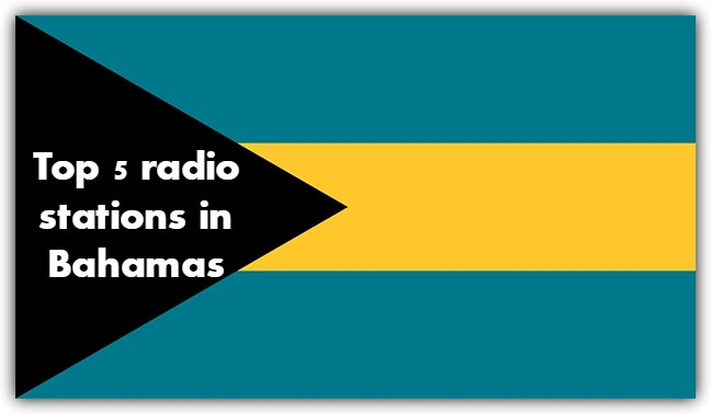 Top 5 live online radio stations in Bahamas