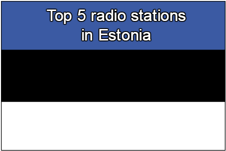 Top 5 live online radio stations in Estonia
