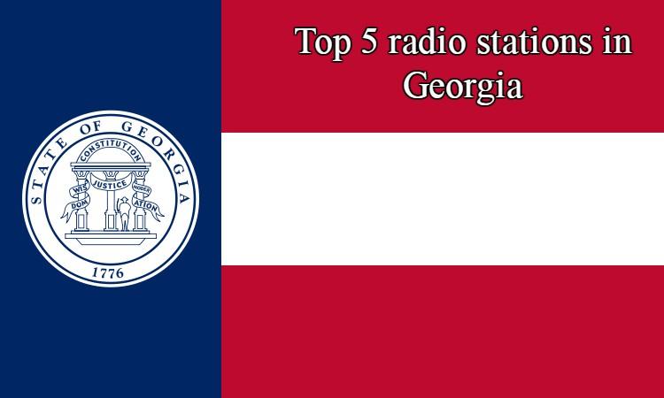 Top 5 online radio stations in Georgia