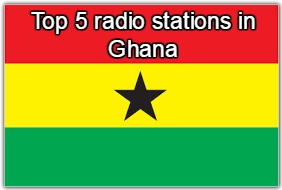 Top 5 omline radio stations in Ghana