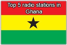 Top 5 omline radio stations in Ghana