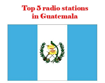 Top 5 online radio stations in Guatemala